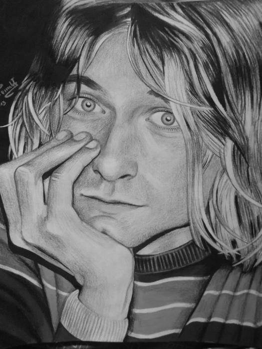 Kurt Cobain by maria248